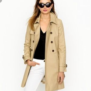 J Crew Collection Icon Trench Coat NEW